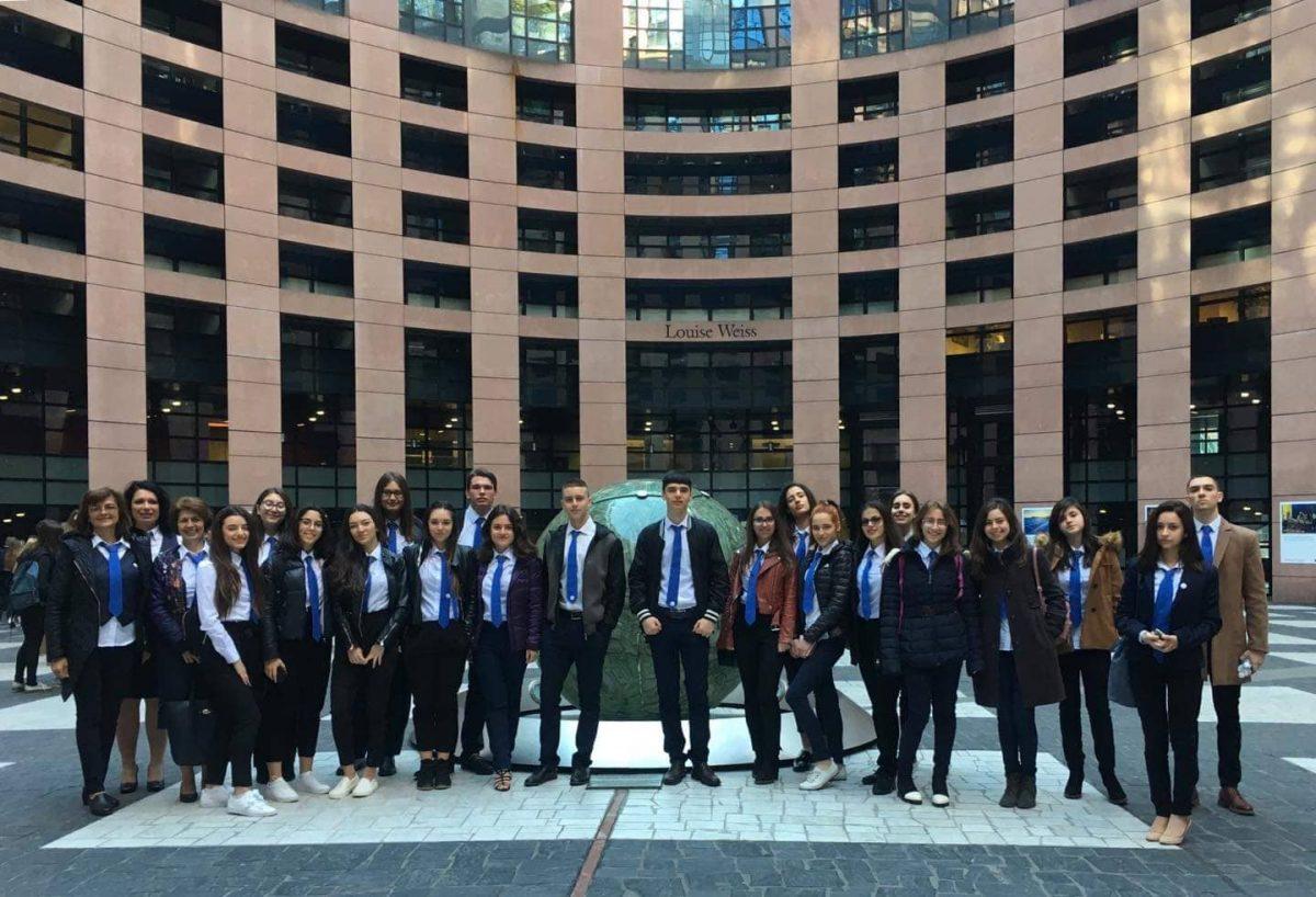 Европейски парламент в Страсбург, архив